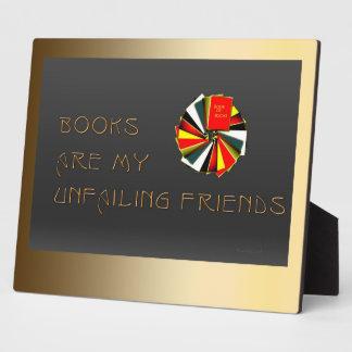 Booklovers Wisdom Plaque