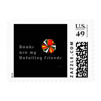 Booklovers Wisdom Postage Stamps