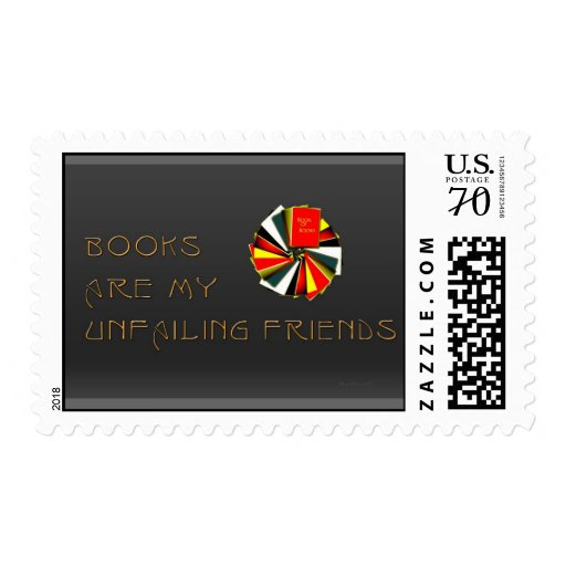 Booklovers Wisdom Stamps