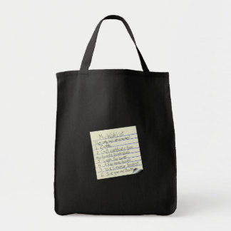 Booklover's Wish List Canvas Bags