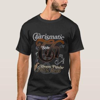 Bookman Italic Swash T-Shirt Dark