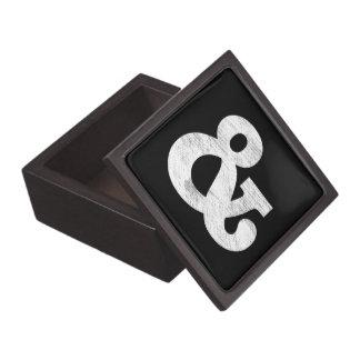 Bookman Old Style Bold White Letterpress Jewelry Box
