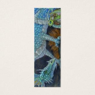 BOOKMARK - Blue Dragon Mini Business Card