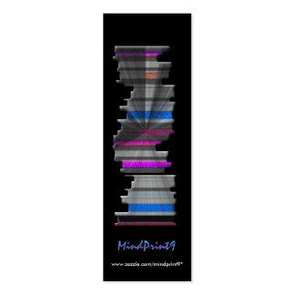 Bookmark - Book-pile Mini Business Card