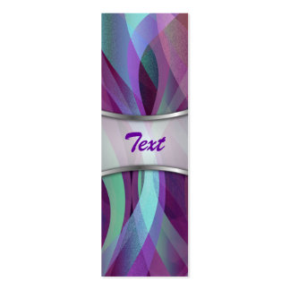 Bookmark Business Card Abstract background