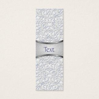 Bookmark Business Card Damask Style Inspiration