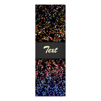 Bookmark Business Card Glitter Graphic Background