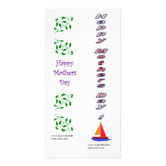 bookmark card for Mothers' Day
