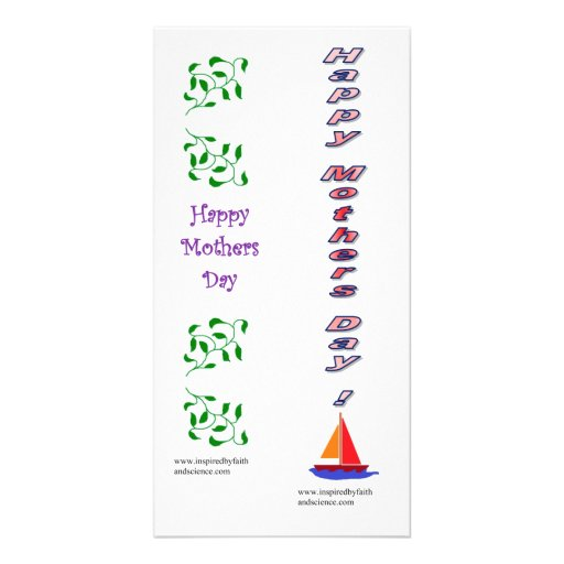 bookmark card for Mothers' Day Photo Card