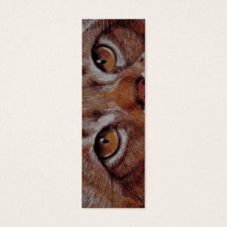 BOOKMARK - Cat Eyes Mini Business Card