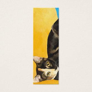 BOOKMARK - Cat Mini Business Card