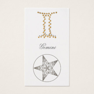 Bookmark Gemini Business Card