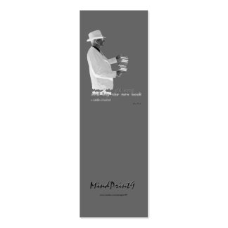 Bookmark - Genuine Booklover Mini Business Card