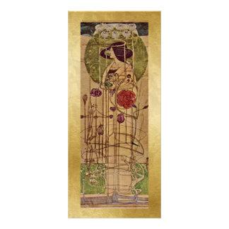 Bookmark Gift Card - by Charles Rennie Mackintosh Custom Rack Card