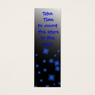Bookmark -Inspirational One liners Mini Business Card