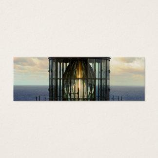 Bookmark Lighthouse Glass Mini Business Card