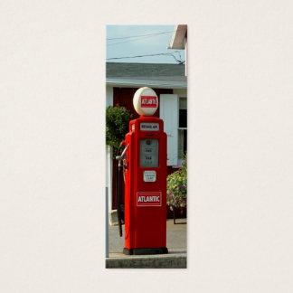 bookmark/ profile card Old gas pump