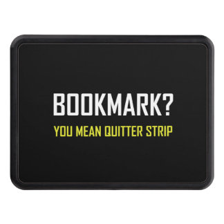 Bookmark Quitter Strip Hitch Cover