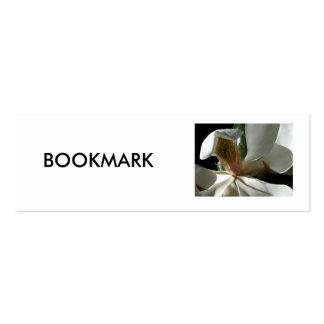 "BOOKMARK, ""The Secret Magnolia"" Mini Business Card"