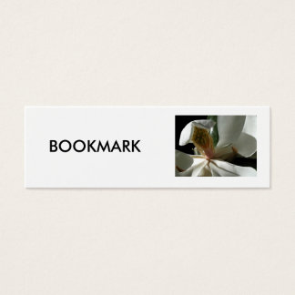 "BOOKMARK, ""The Secret Magnolia"" Mini Business Card"