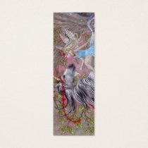 BOOKMARK - Unicorn & Fairy Mini Business Card
