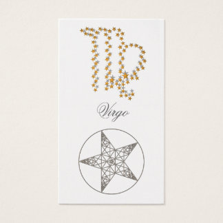 Bookmark Virgo (zodiac sign) Business Card
