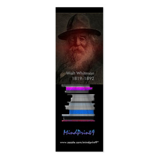 Bookmark - Whitman Mini Business Card