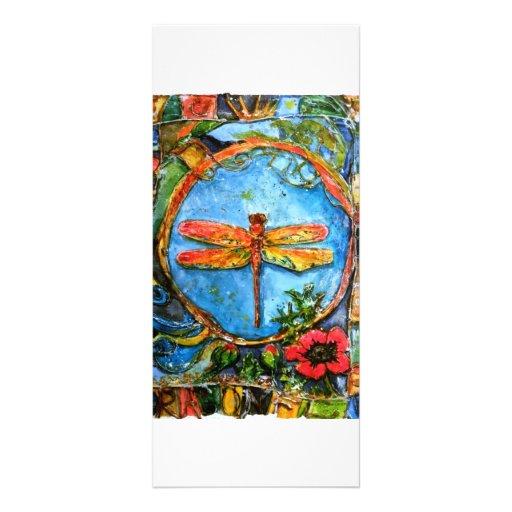 Bookmarker de la libélula II de PMACarlson Tarjetas Publicitarias A Todo Color