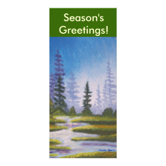 Bookmarker Season's Greetings Rack Card