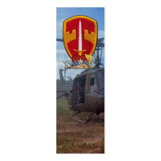 Bookmarkers militares de la guerra del consejero tarjetas de visita mini