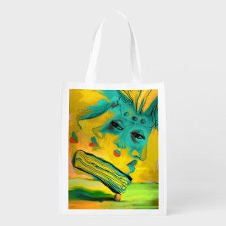 Bookmobile Reusable Grocery Bag
