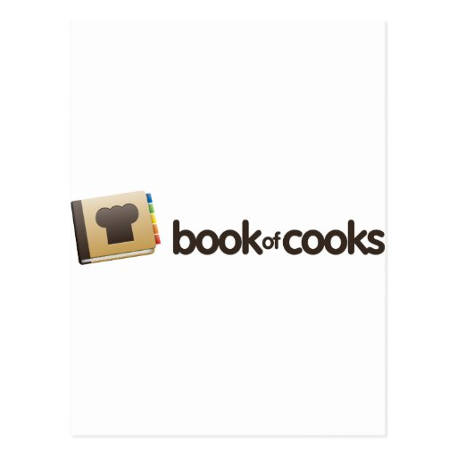 BookofCooks Store Post Card