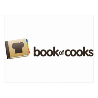 BookofCooks Store Postcard