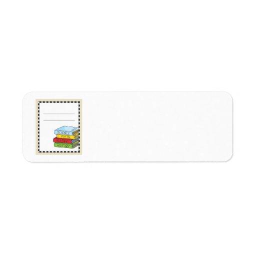Bookplate Classroom Return Address Labels