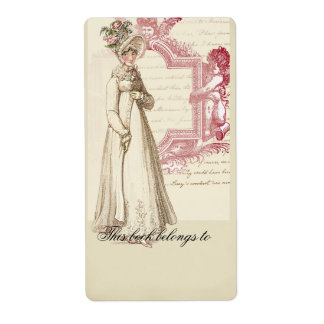 Bookplate de Henrietta Etiqueta De Envío