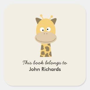 Bookplate Funny Giraffe