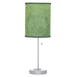 Bookplate Old Green Desk Lamp