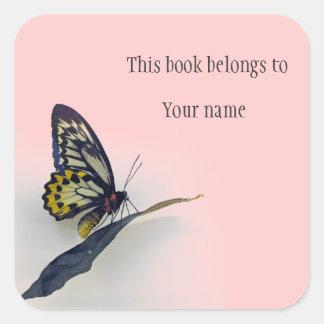 Bookplate personalizado del pegatina de la