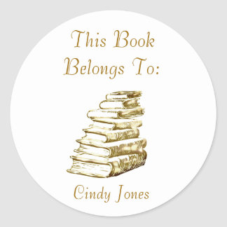 Bookplate Sticker