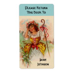 Bookplates Personalized name plates Little Bo Peep Shipping Label