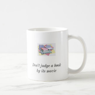 books2, books2, Don't judge a book by its movie... Coffee Mug