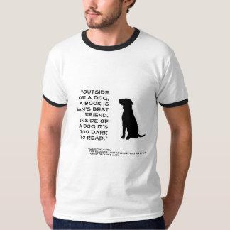 Books: A Man's Best Friend Tee Shirt