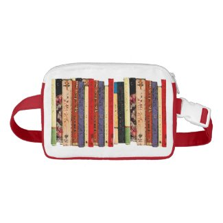 Books Abstract Fanny Pack