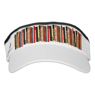 Books Abstract Headsweats Visors