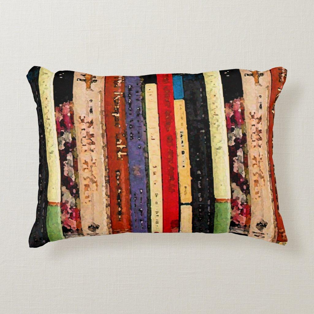 Books Accent Pillow