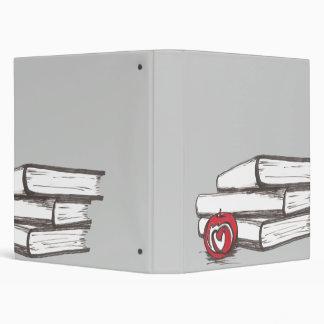 Books + An Apple | Binder | Customizable