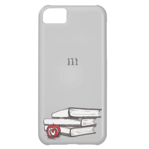 Books + An Apple | Customizable iPhone 5C Cases