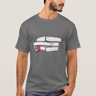 Books + An Apple | Customizable T-Shirt