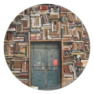 Books and Books Melamine Plate