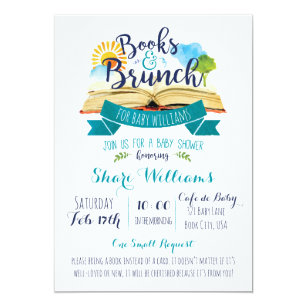 Brunch Baby Shower Invitations Announcements Zazzle